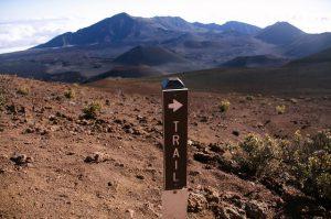 Explore over 30 miles of trails in Haleakalā National Park.