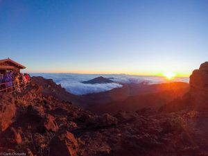 Sunrise over Haleakalā