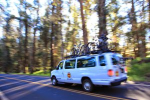 Vans take you to Haleakalā Summit to begin your Maui bike adventure
