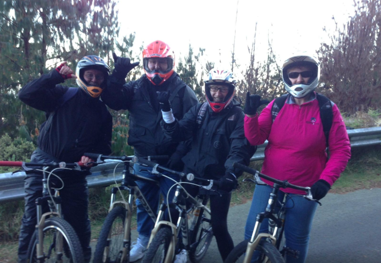 Family Fun with Maui Downhill Bike Tours