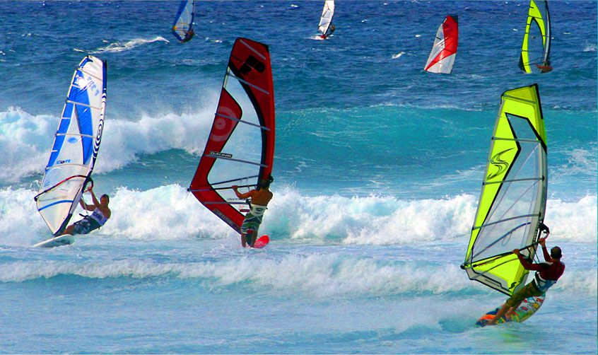 Maui Activities Wind Surfing