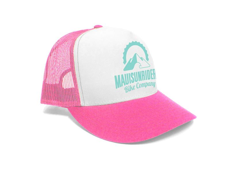 Hat (Pink/White)